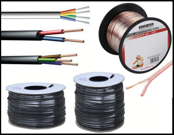 Cables | Wires | Cable Accessories | Wire Accessories |Cricklewood ...