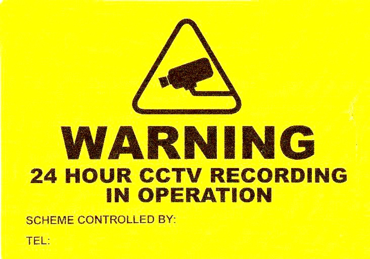 Cctv Warning Signs Cricklewood Electronics