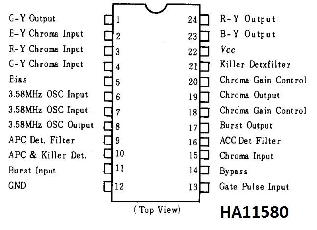 integrated circuits base numbers beginning from c to k