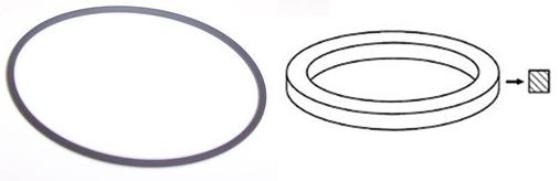 Electronic Rubber Belts : Rubber drive belts pinch roller square