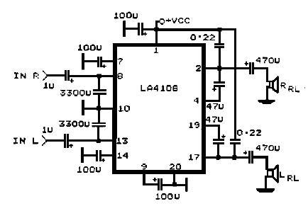 La4108 Circuit Diagram
